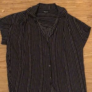 Madewell Black Central Shirt